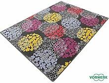 Vorwerk Bijou Fleur braun Kettelteppich Teppich 200x300 cm
