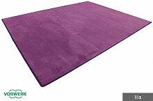 Vorwerk Bijou lila der HEVO® Teppich |