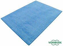 Vorwerk Bijou Petticoat blau Teppich | Kinderteppich | Spielteppich 200x300 cm Sonderedition