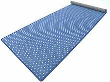 Vorwerk Bijou Petticoat blau Teppich | Kinderteppich | Spielteppich 120x400 cm Sonderedition