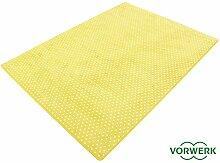 Vorwerk Bijou Petticoat gelb Teppich |