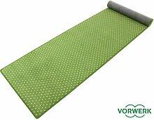 Vorwerk Bijou Petticoat grün Teppich | Kinderteppich | Spielteppich 080x400 cm Sonderedition