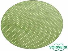 Vorwerk Bijou Petticoat grün Teppich |