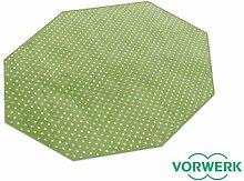 Vorwerk Bijou Petticoat grün Teppich   Kinderteppich   Spielteppich 200 cm Achteck Sonderedition