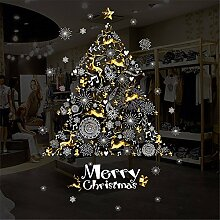 Vory Weihnachten Shop Shop Fenster Glas dekorative