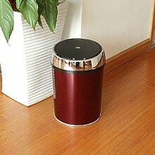 Vory Wein Rot Sensor Mülleimer für Hausmüll