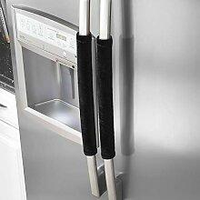 VOSAREA 2 Stück Kühlschranktürgriff-Abdeckungen