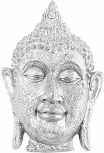 VOSAREA Buddha Kopf Statue Figur Buddha Skulptur
