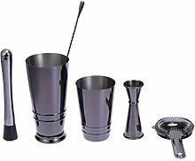 Vosarea Cocktail Shaker Set mit Cocktail Muddler