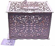 Vosarea Geschenkkarten Box Hochzeit Briefbox