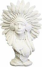 VOSAREA Indische Statue Harz Sandstein Figur