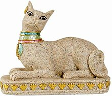 VOSAREA Katze Harz Statue Tierfiguren Handwerk
