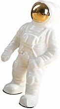 VOSAREA Miniatur Astronauten Statue Ornament