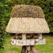 VOSS.garden Vogelhaus Pellworm, mit Reetdach,