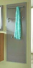 Voss-Möbel Garderobenpaneel VENTINA/SANTINA 60x170x10cm in der Farbe Taupe