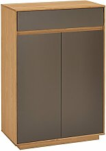 Voss-Möbel Kommode V100 72x103x37cm in der Farbe Lack basal