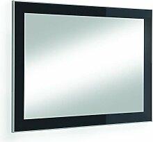 Voss-Möbel Spiegel VENTINA/SANTINA 80x60cm in der Farbe Anthrazi