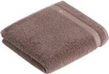 Vossen Handtuch, Baumwolle braun