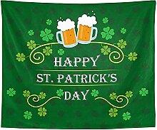 votgl Happy StPatrick s Day Tapisserie Beer
