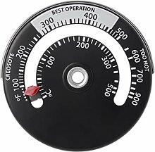 VOVOL Magnetisches Ofenrohr/Ofenrohr/Thermometer,