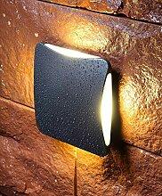 VOVOVO 12W Außenleuchte LED Wandaußenlampe