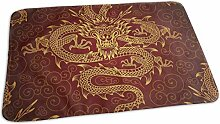 Voxpkrs Changing Pad Vintage Chinese Dragon Fire