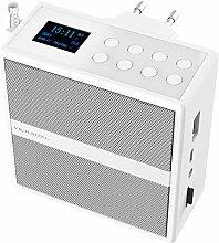 VR-Radio Badezimmer Radio: Steckdosenradio mit