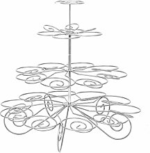 VROSE FLOSI 4-stufige Muffinetagere Muffin Etagere