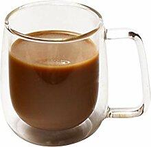 VROSE FLOSI Tasse Kaffee-Glas doppelwandig Thermo