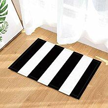 vrupi Einfache und frische Mode schwarz und weiß