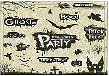 Vrupi Kürbis Halloween Party Decor Schloss Bad
