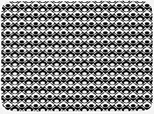 vrupi Moderne Badmattenmatte monochromes Layout