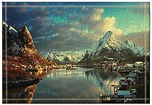 vrupi natürliche Landschaft dekor Schnee Berg