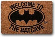 vrupi Neues Willkommen in Batcave Fußmatte