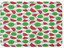 vrupi Obstbadematte mit geschnittenen und