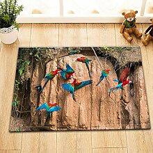 vrupi Tropische Dschungelara Vogel Ins Stil