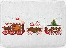 vrupi Weihnachtsbadematte mit Lebkuchencreme