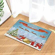 Vrupi Weihnachtsmann mit Badvorhang, für Rentier,