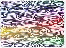 vrupi Zebradruck-Badematte Abstraktes