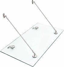 VSG-Sicherheitsglas Haustür-Vordach 120×60 cm