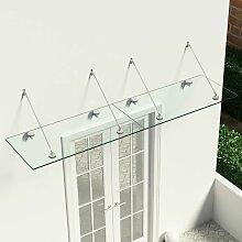 VSG-Sicherheitsglas Haustür-Vordach 240×60 cm