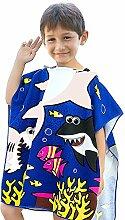 VSTON Kind Poncho Handtuch für Strand Schwimmen