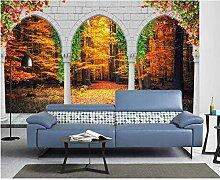 VVBIHUAING 3D Tapete Aufkleber Wandbilder Wand