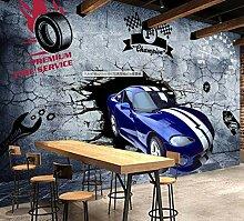 VVBIHUAING 3D Tapete Dekorationen Wand Wandbilder
