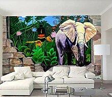 VVBIHUAING 3D Tapete Dekorationen Wandbilder Wand