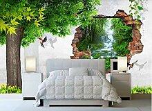 VVBIHUAING 3D Wand Tapete Wandbilder Dekorationen
