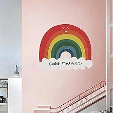 Vvff Regenbogen Wandaufkleber Schlafzimmer Für