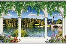 VVNASD 3D Wandbilder Aufkleber Tapete Dekorationen