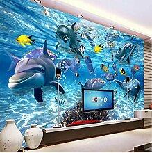 VVNASD 3D Wandbilder Dekorationen Tapete Wand