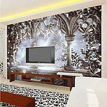 VVNASD 3D Wandbilder Tapete Aufkleber Dekorationen